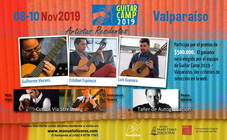 Afiche Guitar Camp_Nov2019_D